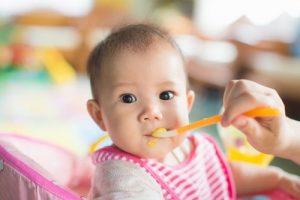 Baby spiser