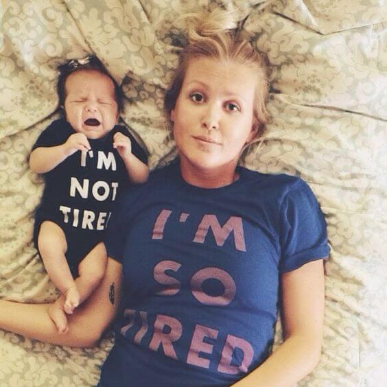 Farene ved å være en trøtt mor