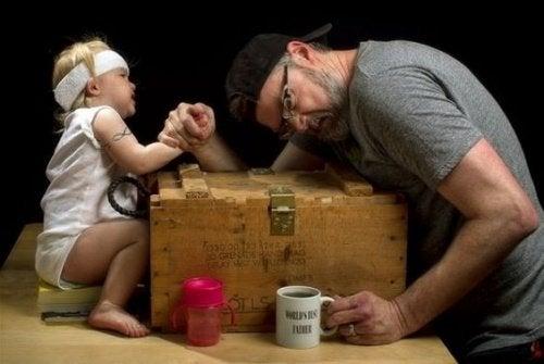 far og datter forhold