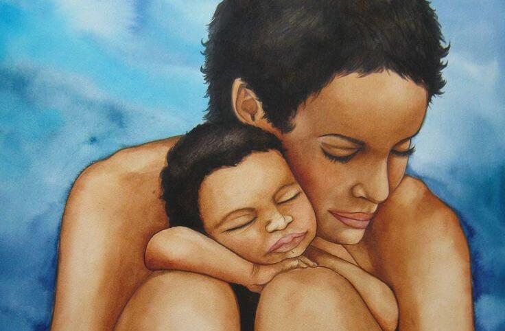 Jeg er en mor men av og til føler jeg meg ensom