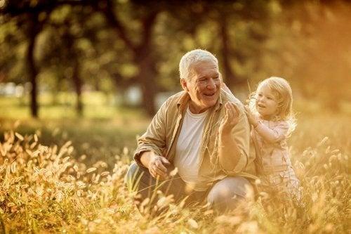 Bestefar og barnebarn
