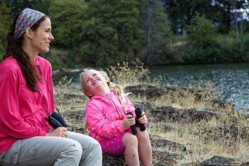 Bruk kvalitetstid med datteren din