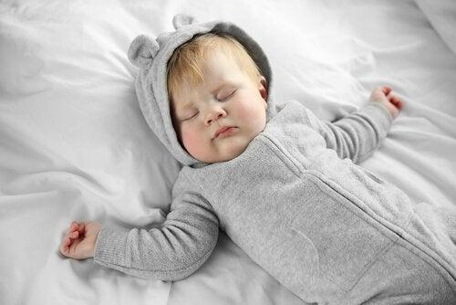 sette grenser gir sovende barn