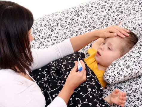 Ikke alle sykdommer krever behandling for barn