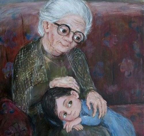 Bestemor, den vakreste stjernen på himmelen