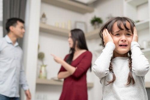Krangling fører til frykt blant barn