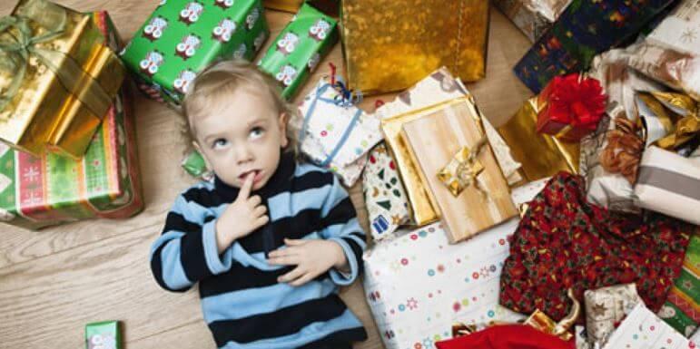 Barneleker og utallige gaver – det er et syndrom