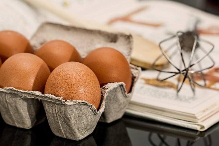 Det er D-vitamin i egg
