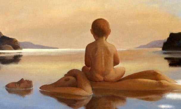 Mamma, hold meg nær din hud, nær din sjel ... Løsrevet fra frykt