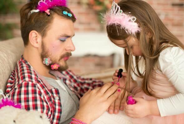et brev fra en far til sin lille jente