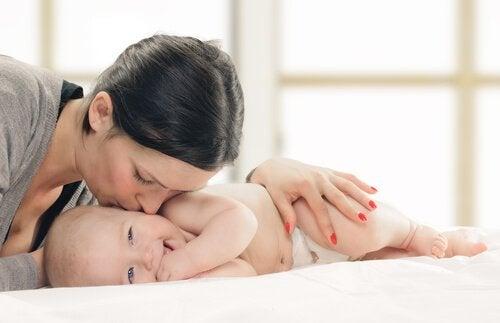 tredje måned av et barns liv