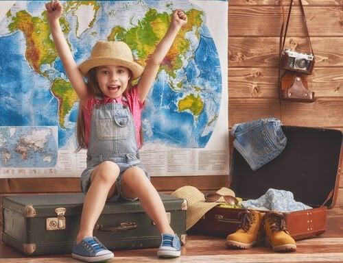 Fordelene med å reise fra en ung alder