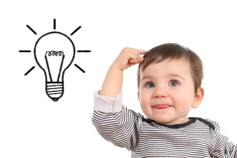 Hvordan stimulere babyens intelligens og hukommelse