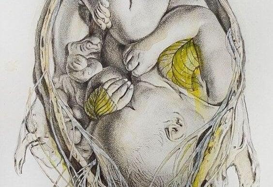 baby i livmor