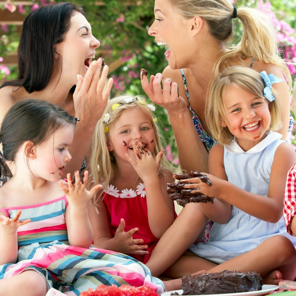 En gudmor kan være en hjørnestein i barnas liv