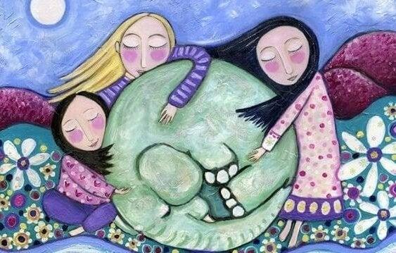 4 flotte bøker for å utdanne barna om emosjonell intelligens