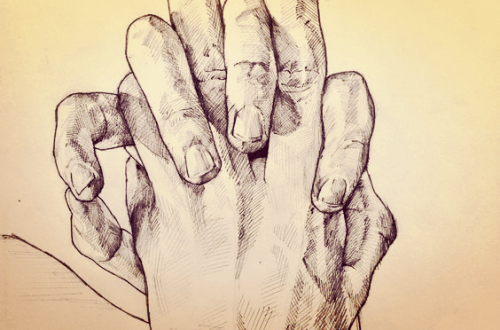 foldete hender