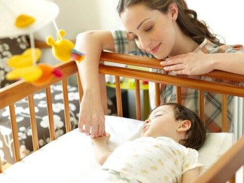 Ideell sovestilling for babyen din