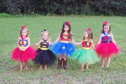 Barne heltinner