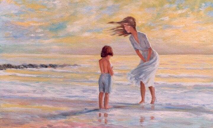 Du oppdager nye steder i hjertet når du elsker et barn