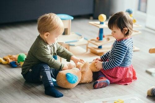 Smittsomme sykdommer som sprer seg i barnehagen