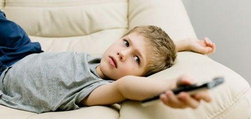 De vanligste uvaner hos unge barn