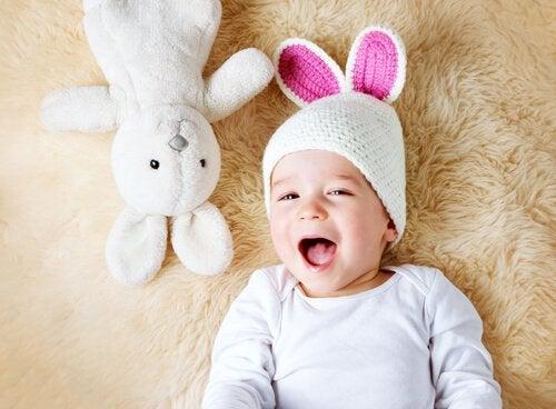 Den lille kaninen som så gjerne ville sove