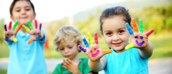 3 kreative aktiviteter for barn i alderen 3 til 5 år