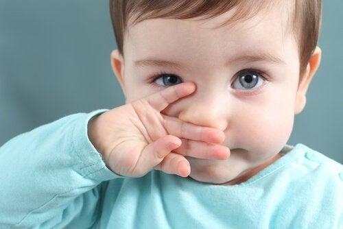 Identifisering og behandling av slim hos barn