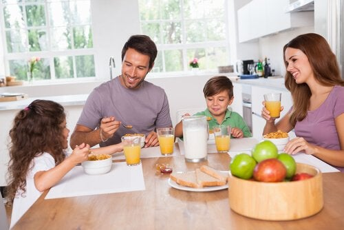 familiemåltid