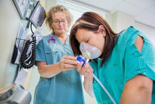 Dinitrogenoksid som smertelindring for fødsel