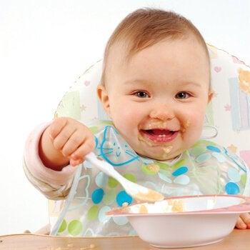 5 puré oppskrifter for babyer 12 måneder