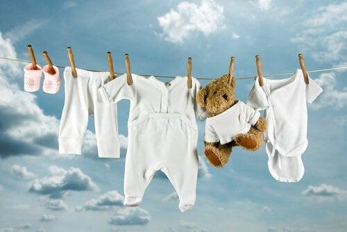 Tips for vasking av barnas klær