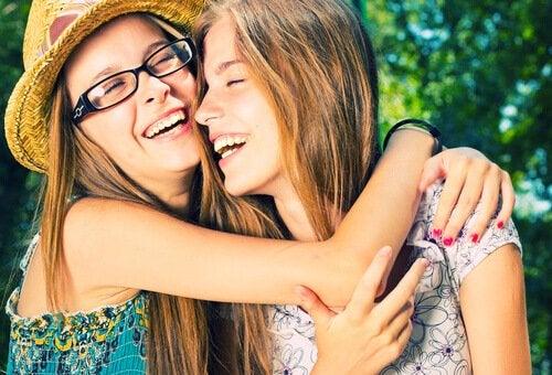 Glade tenåringer