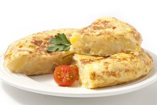 Oppskrifter på deilige omeletter for barn