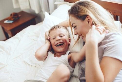 Stressfrie barn og mor
