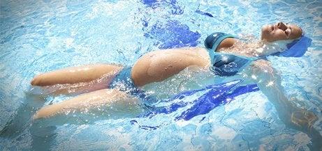 svømme graviditet