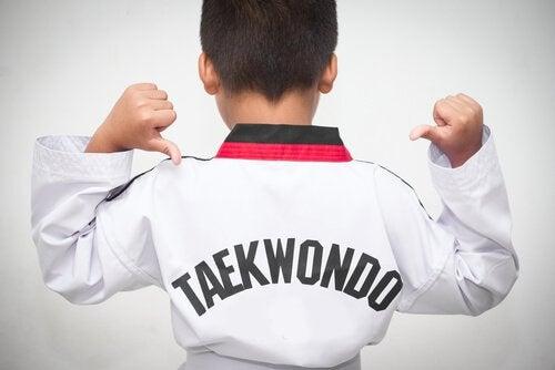 Fordeler med taekwondo for barn