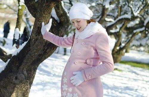 føde om vinteren