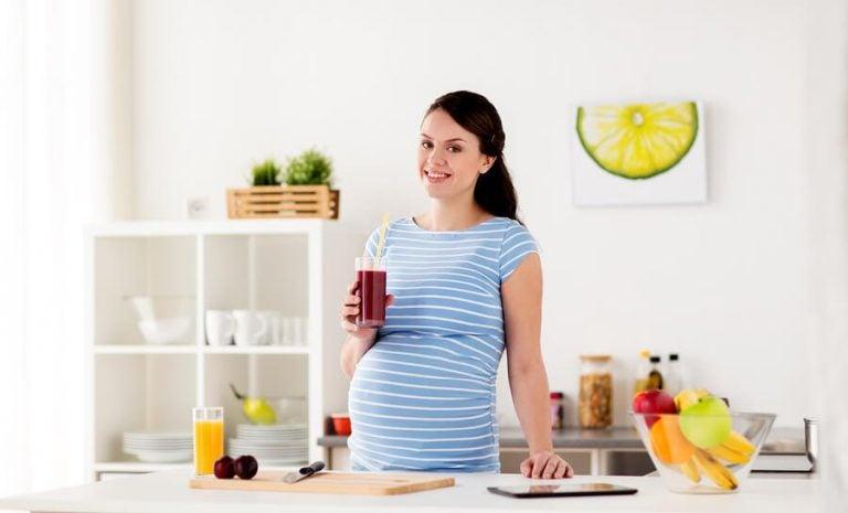 4 deilige og sunne juicer for gravide kvinner