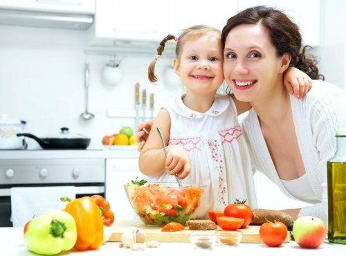 Lær barnet ditt å vokse opp med gode vaner