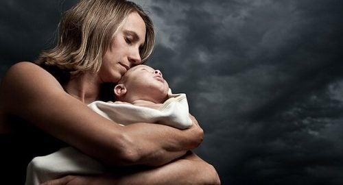 Postpartum depresjon