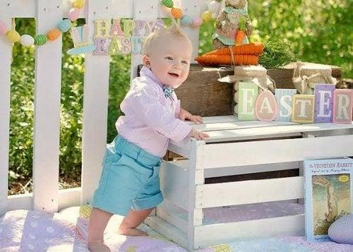 6 milepæler i babyens første leveår