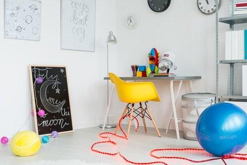 9 ideer for å innrede barnas lekerom