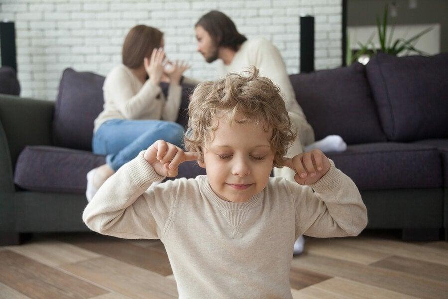 Effektene av skilsmisse i barndommen og ungdomsårene