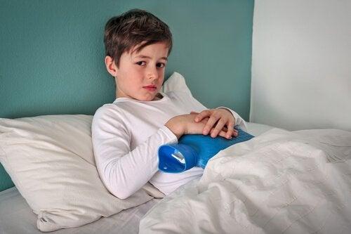 gutt med gastroenterititt
