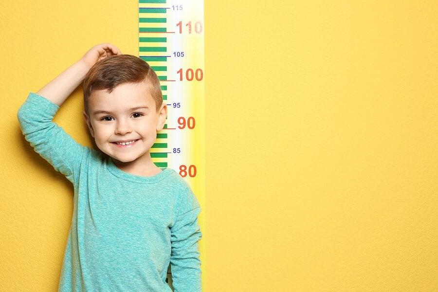 Vekst hos barn: når vil de slutte å vokse?