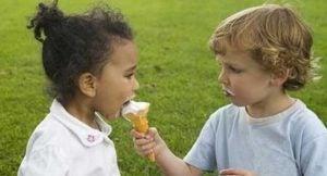 lære å dele med andre