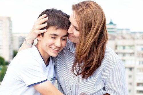 Mor dating sønn