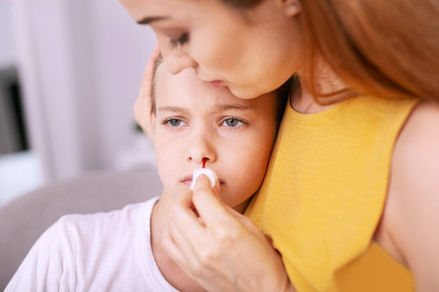Hvordan forebygge neseblod hos barn